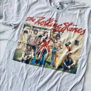 Tops - Rolling Stones Alamo Texas Vintage Tour Tee Size S